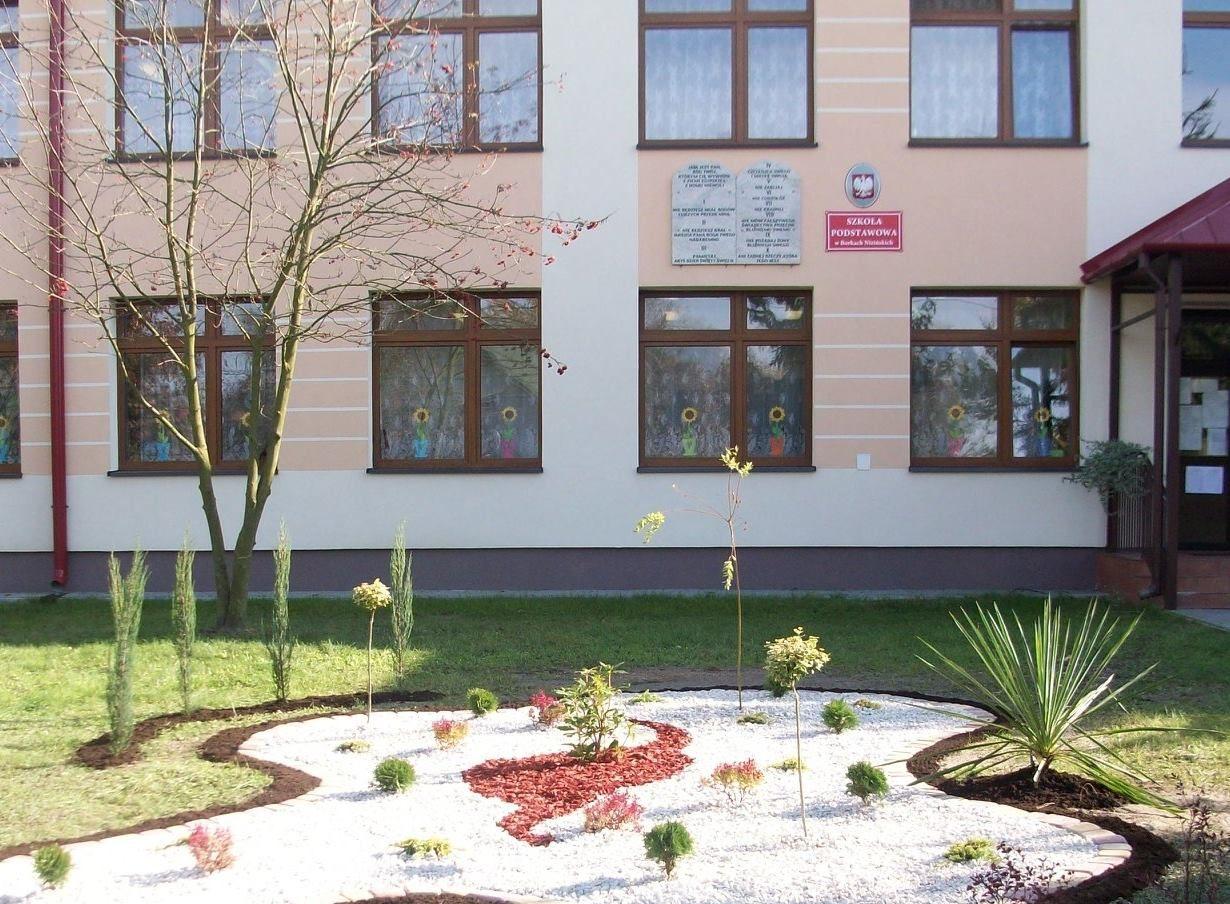 Szkoła Podstawowa im. św. Andrzeja Boboli w Borkach Nizińskich